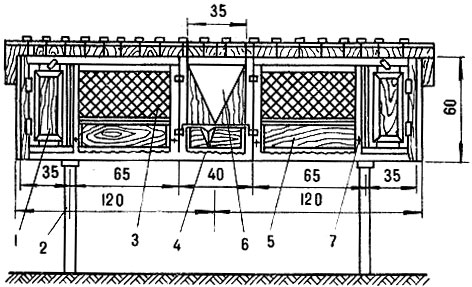 Схема устройства двухместной