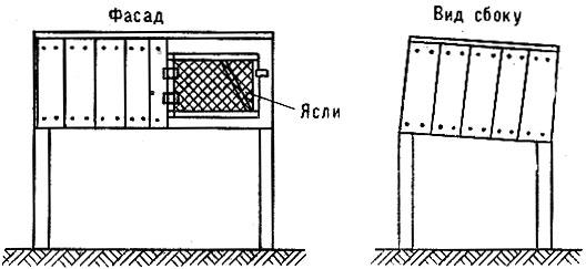 Клетка из ящика