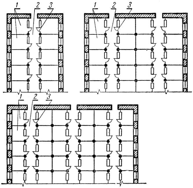 Схема внутренней планировки