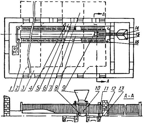 Схема реконструкции свинарника